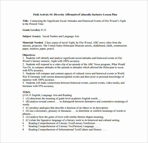 Coe Lesson Plan Template Lovely Gcu Lesson Plan Template Coe Template Lesson Plan 3 Gcu
