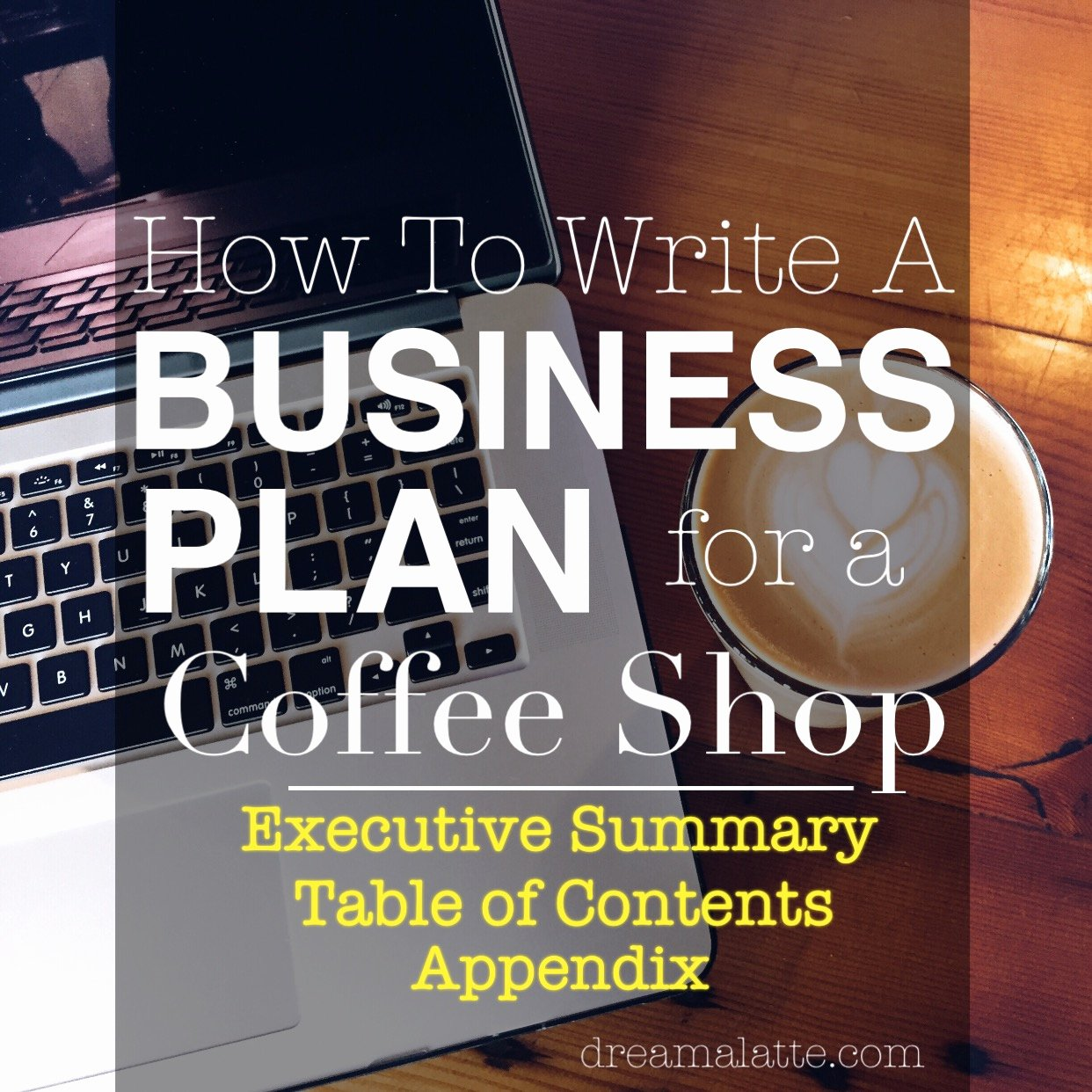 Coffee Shop Business Plan Template Beautiful Coffee Shop Business Plan Executive Summary Dream A Latte