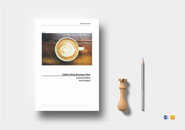 Coffee Shop Business Plan Template Fresh Cafe Business Plan Template – 14 Free Word Excel Pdf