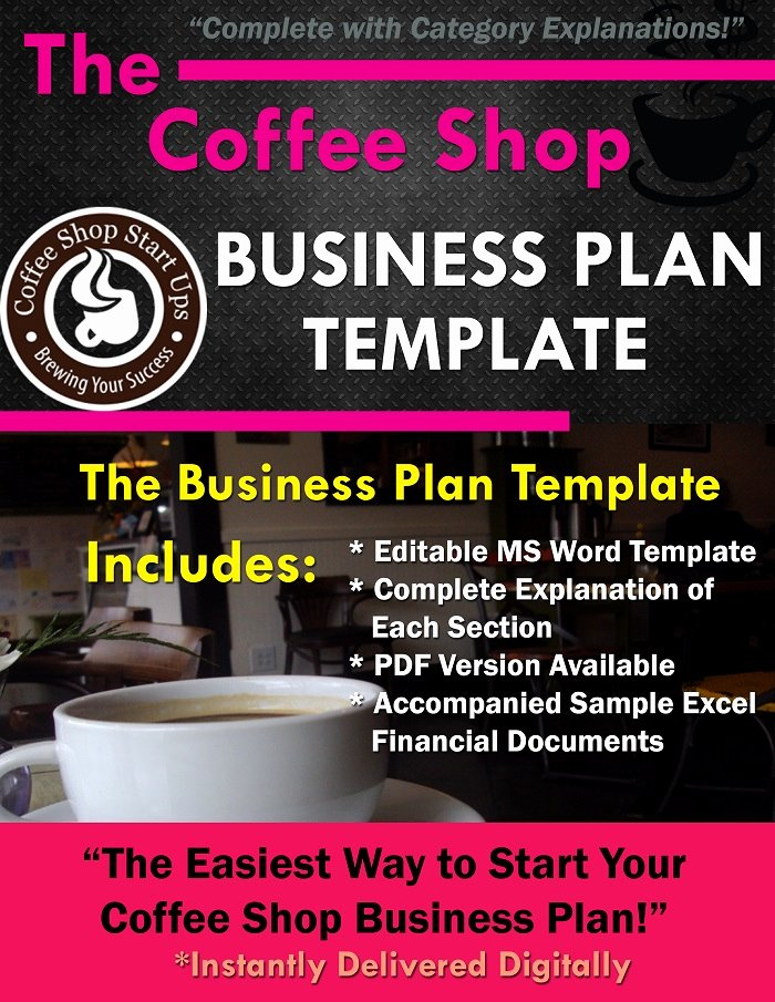 Coffee Shop Business Plan Template Lovely before Starting Your Coffee Shop Plan Your Sample Bud