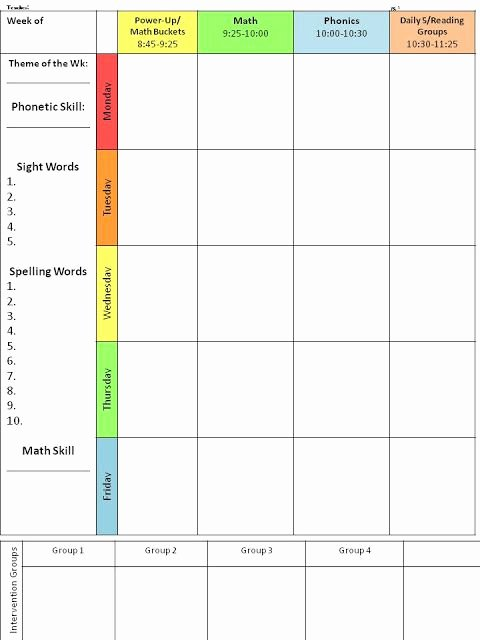 College 4 Year Plan Template New 25 Best Ideas About Lesson Plan Templates On Pinterest