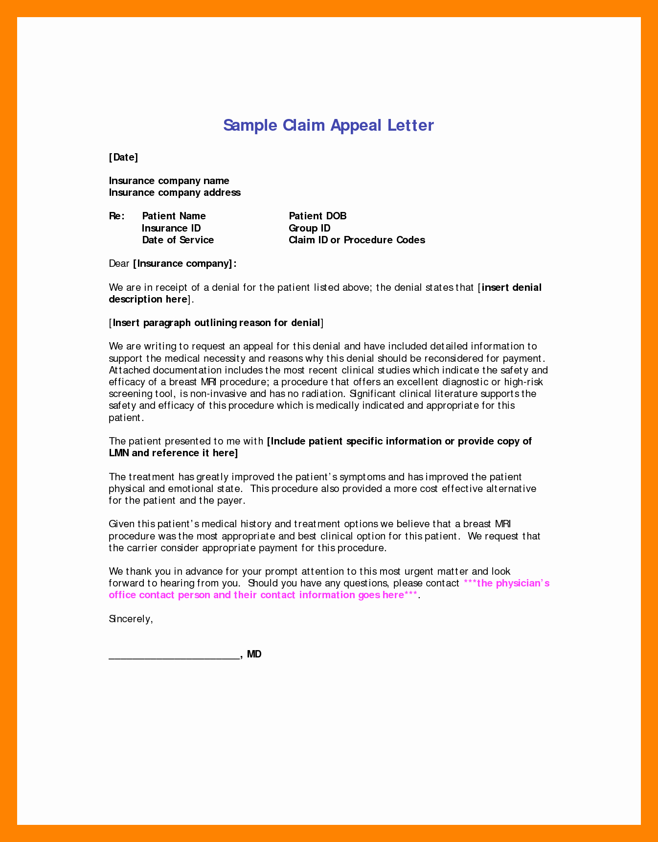 College Appeal Letter format Lovely 6 Sample Letter Of Appeal for Reconsideration