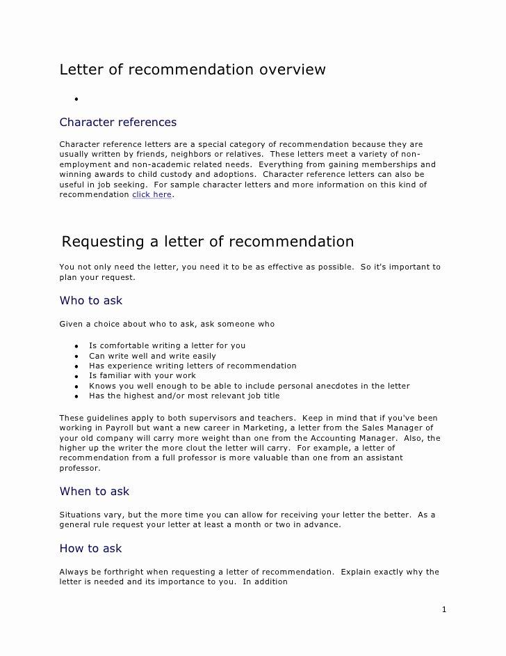 College Recommendation Letter From Alumni Sample Elegant Letter Re Mendation Overview