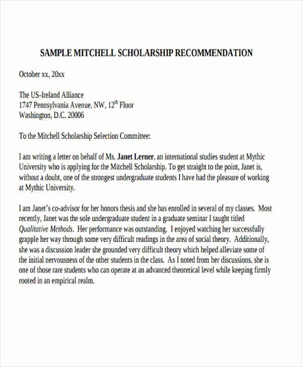 Common App Letter Of Recommendation Inspirational 43 formal Application Letter Template