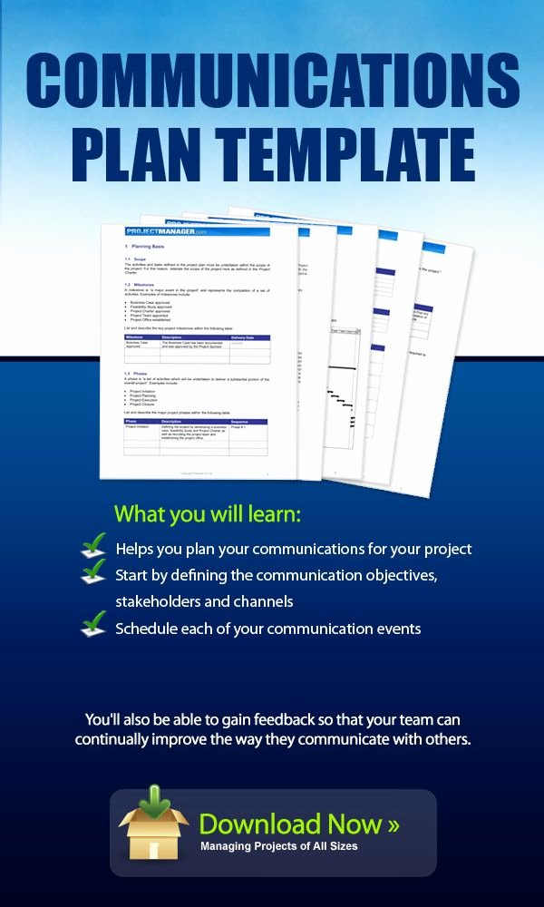 Communication Management Plan Template Lovely Download This Munication Plan Template for Free It