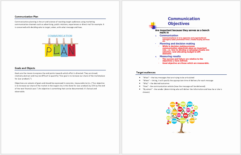 Communications Plan Template Word Best Of Munication Plan Template – Microsoft Word Templates