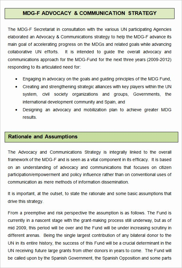Communications Plan Template Word Unique 10 Munication Strategy Templates Free Word Pdf