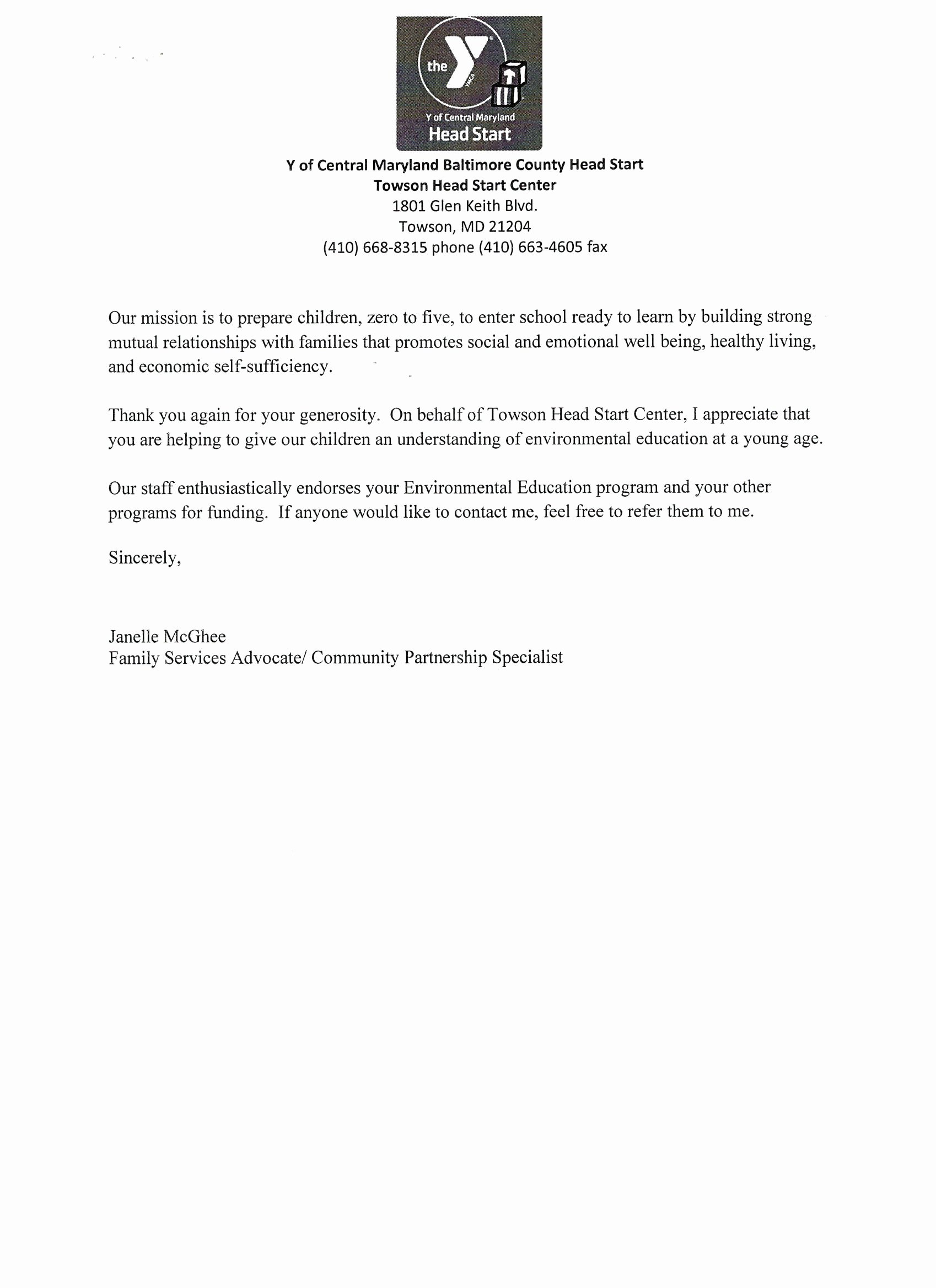 Community Service Recommendation Letter Best Of It S About the Kids Education organization Inc