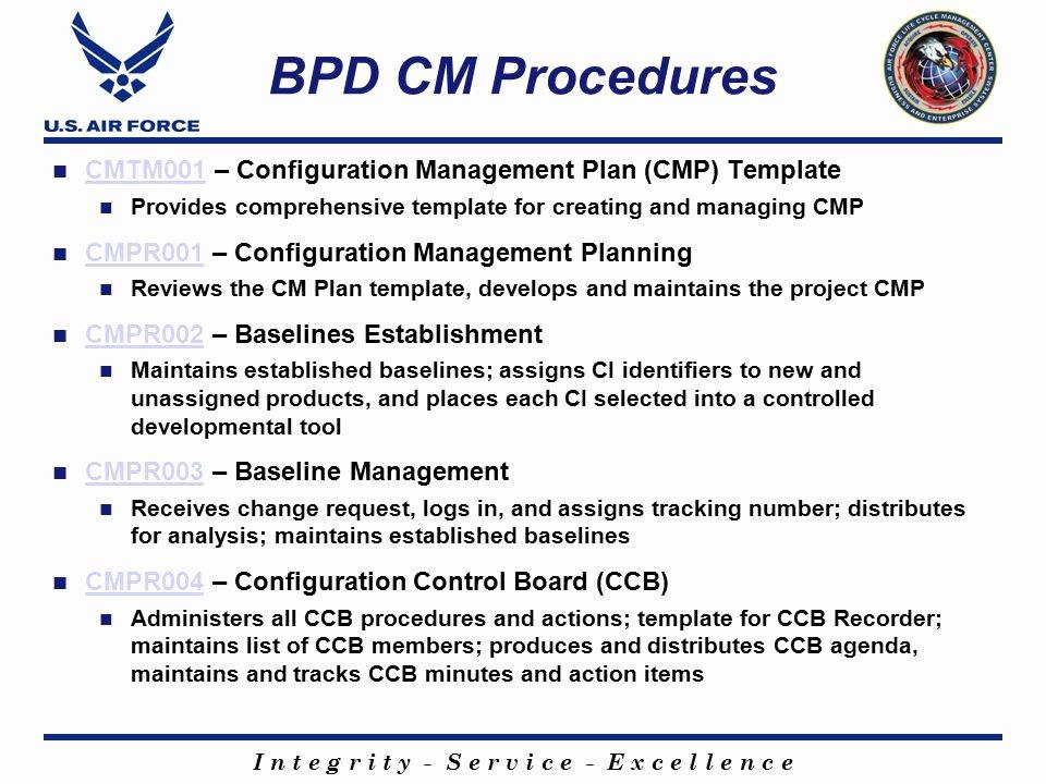 Configuration Management Plan Template Fresh Configuration Management Plan Template Sarahepps