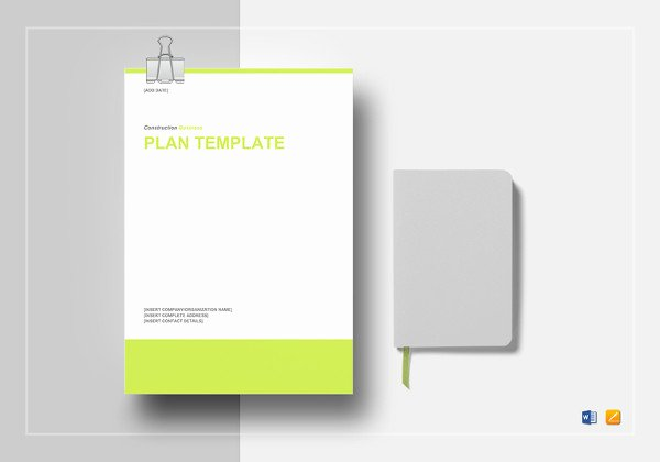 Construction Business Plan Template Best Of Construction Safety Plan Template 19 Free Word Pdf