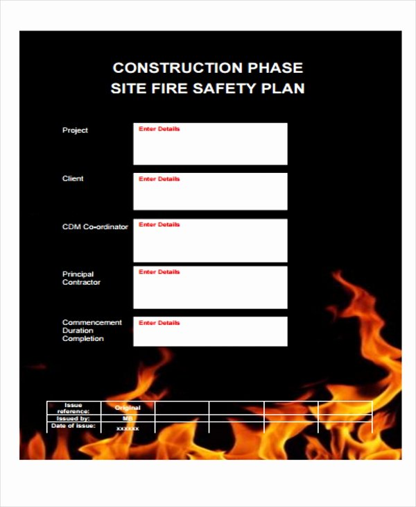 Construction Safety Plan Template Awesome 29 Safety Plan formats