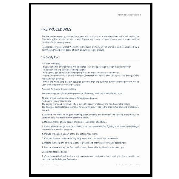 Construction Safety Plan Template Unique Construction Safety Construction Safety Briefing