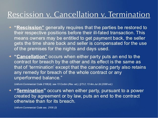 Contract Rescission Letter New How to Get Out Of Your Timeshare