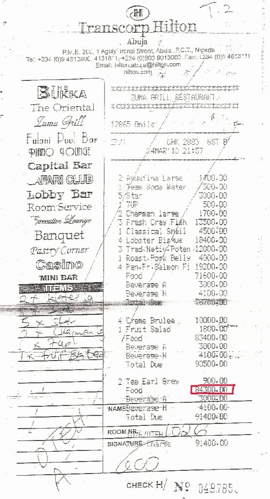 Copy Of A Receipt Beautiful Wel E to Martha Igene Blog Copy Of Arunma Oteh S N850