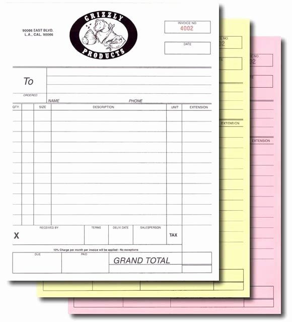 Copy Of A Receipt Elegant Custom Print A5 145x210mm Invoice Receipt Book Work order