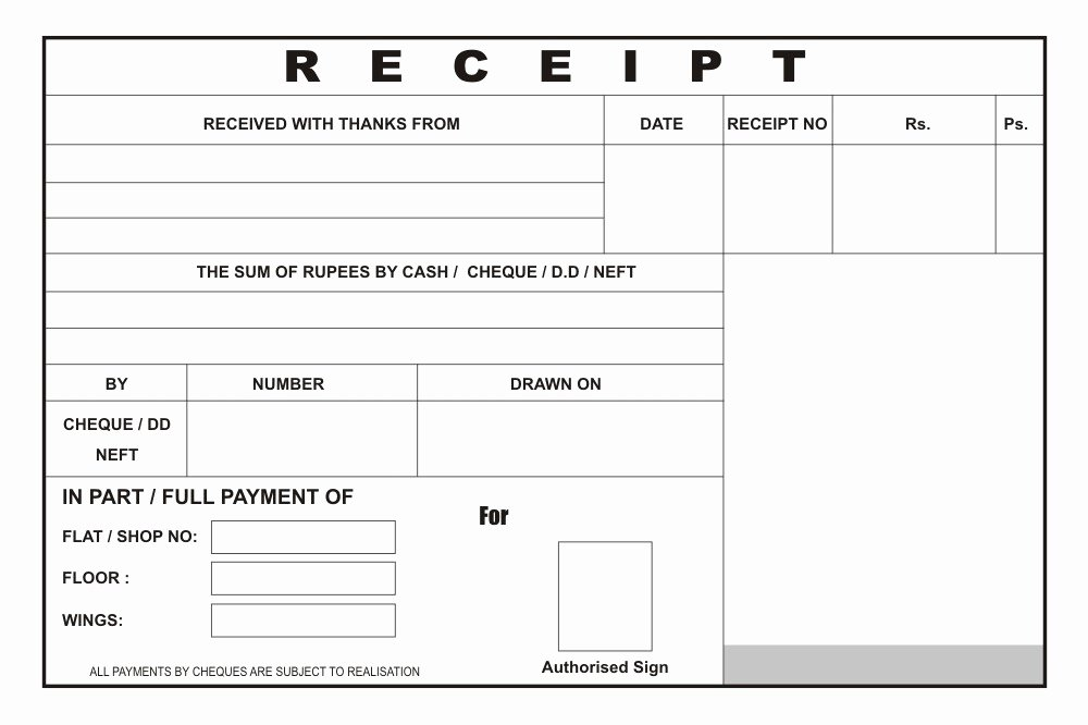 Copy Of A Receipt Fresh Reciept Book Builder Zatpatprinting