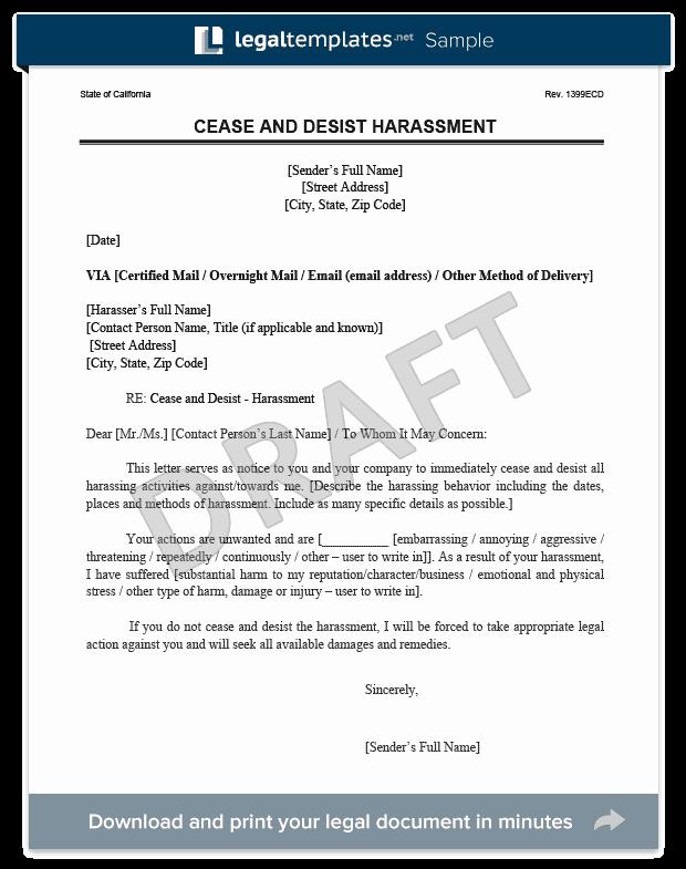 Copyright Cease and Desist Letter Elegant Cease and Desist Letter C&d