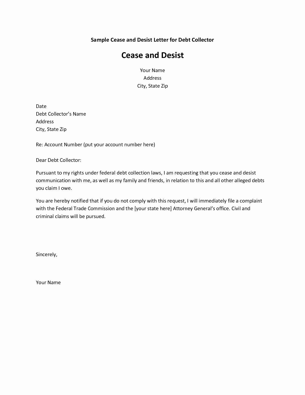 Copyright Cease and Desist Letter Elegant Cease and Desist Letter Patent Infringement Template
