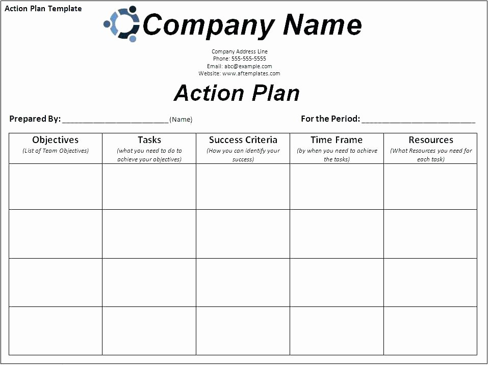 Corrective Action Plan Template Excel Beautiful Employee Action Plan Template Excel Corrective Free Word