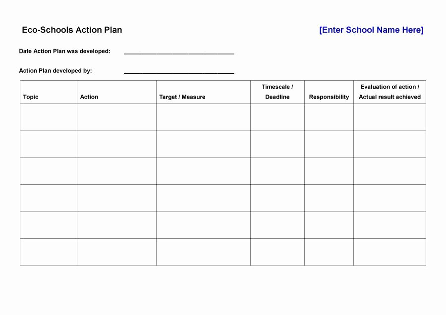 Corrective Action Plan Template Excel Lovely Corrective Action Plan Template