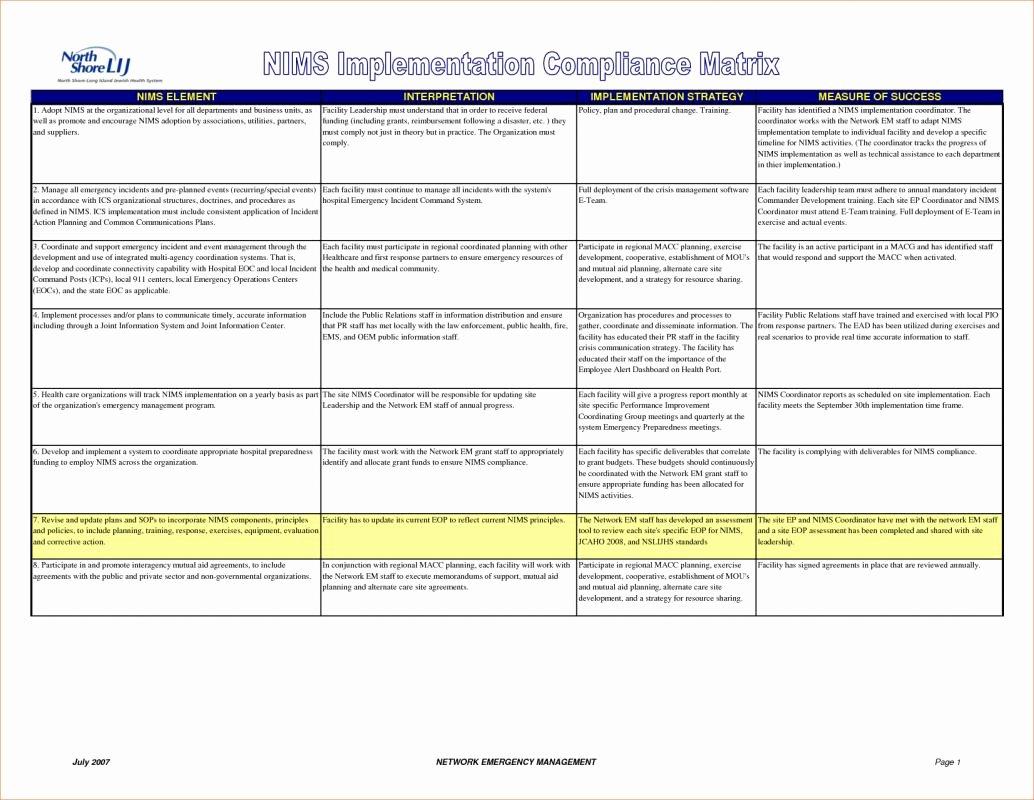 Corrective Action Plan Template Healthcare New Corrective Action Plan