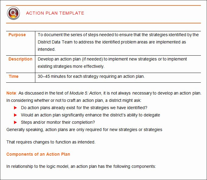 Corrective Action Plan Template Word Fresh Corrective Action Plan Template 25 Free Word Excel Pdf