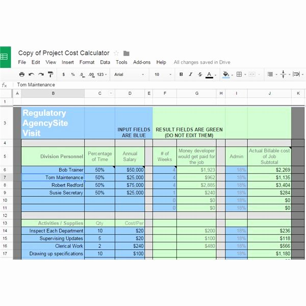 Cost Management Plan Template New 10 Great Google Docs Project Management Templates