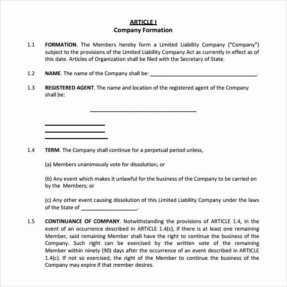 Cottage Operating Agreement Template Luxury S Corp Operating Agreement