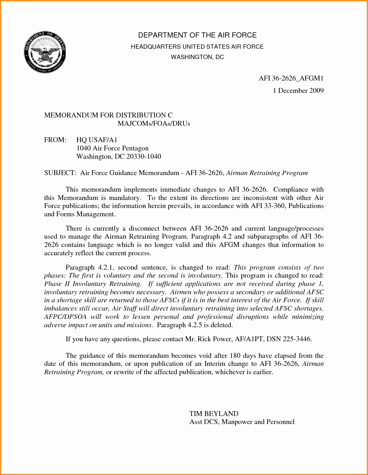 Counseling Letter Of Recommendation Fresh 19 Of Letter Reprimand Template Air force