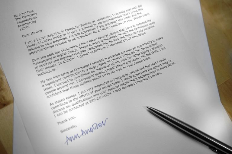 Cover Letter Block format Beautiful Business Letter Layout Example