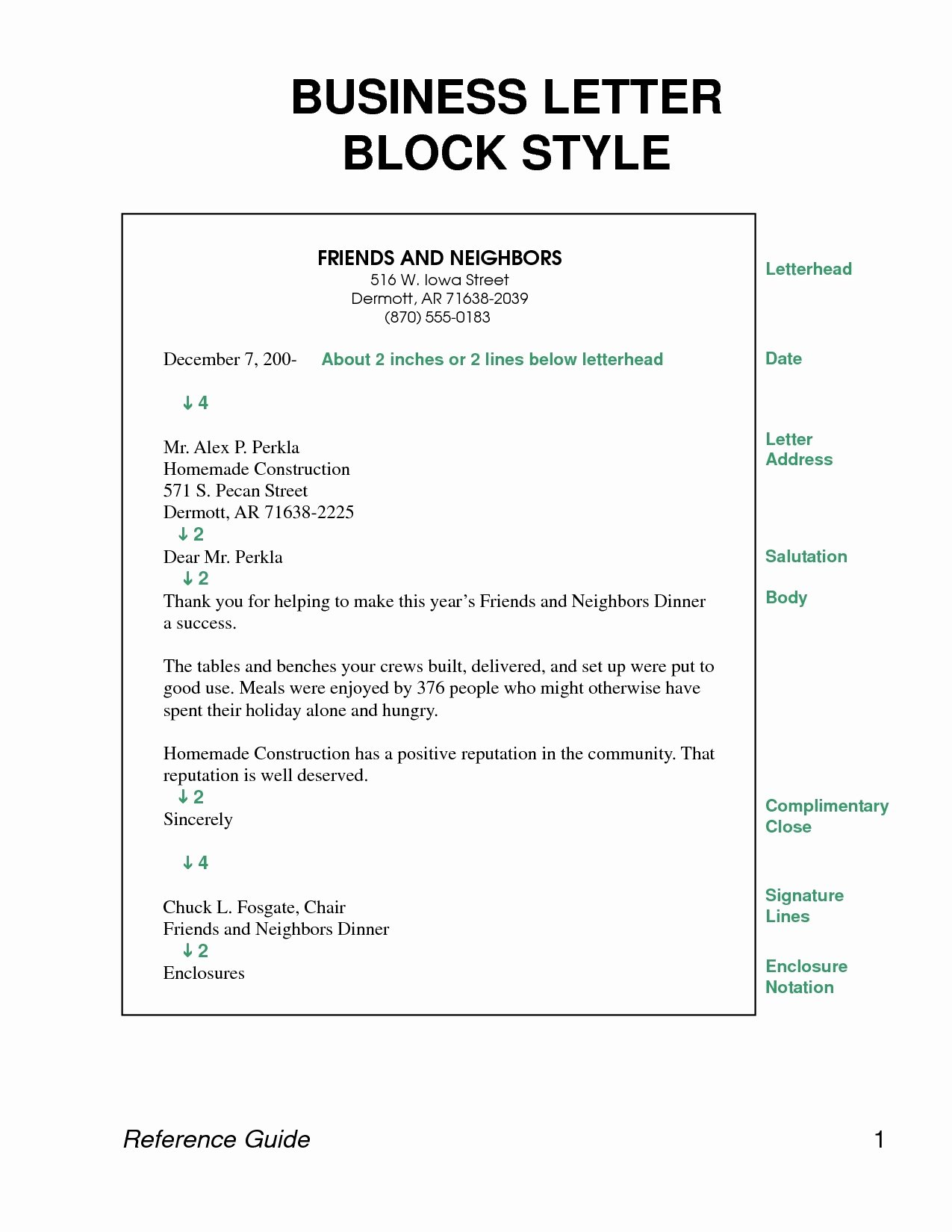 Cover Letter Block format Best Of Block Style Business Letter Template