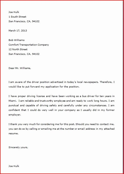 Cover Letter Block format Fresh 15 Full Blocked Style Letter