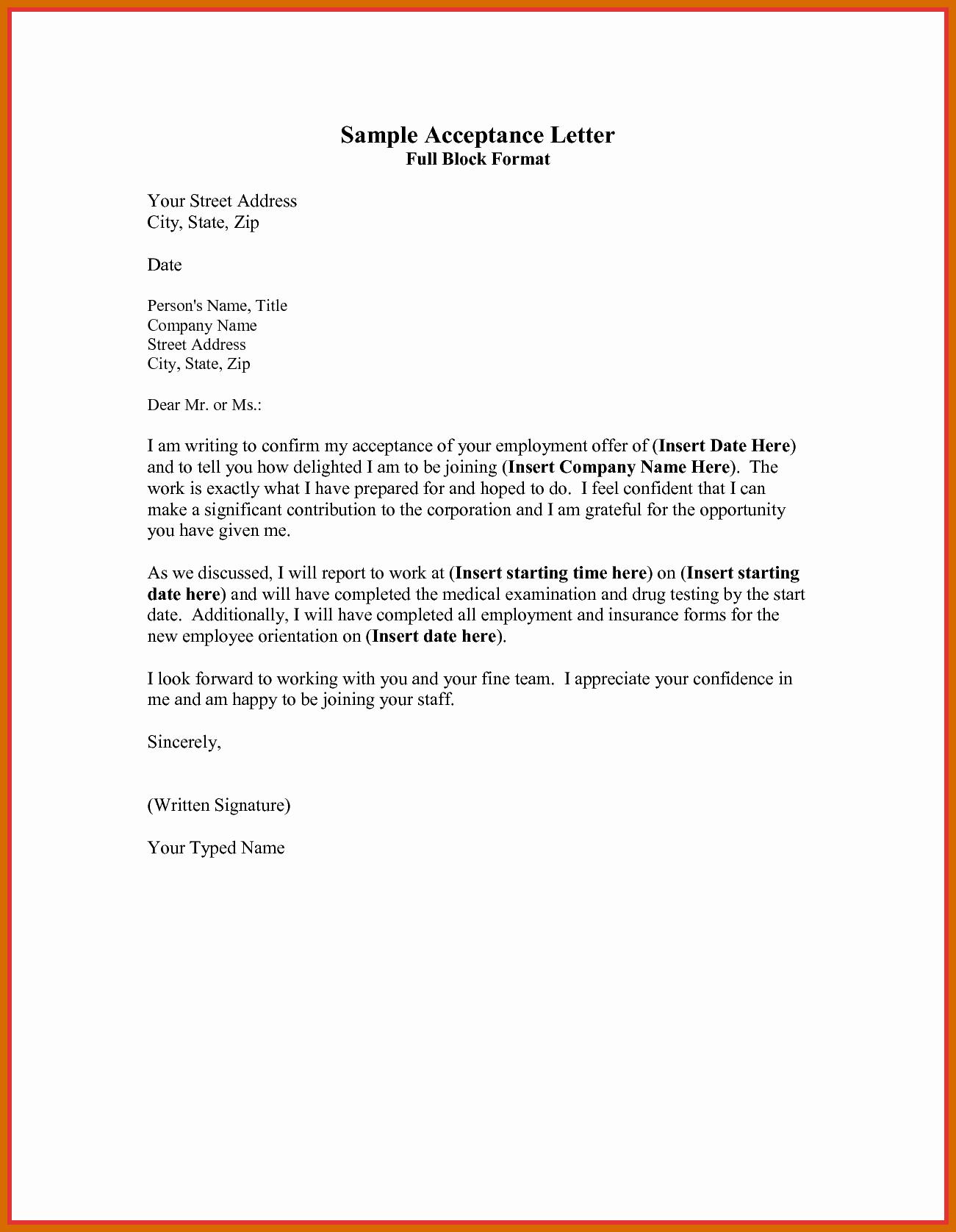 Cover Letter Block format Fresh 3 4 Block formatted Letter