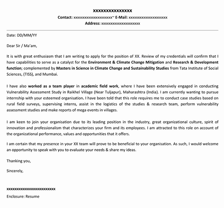 Cover Letter format for Internship Luxury Professional Resume Cover Letter Templates 15 Examples