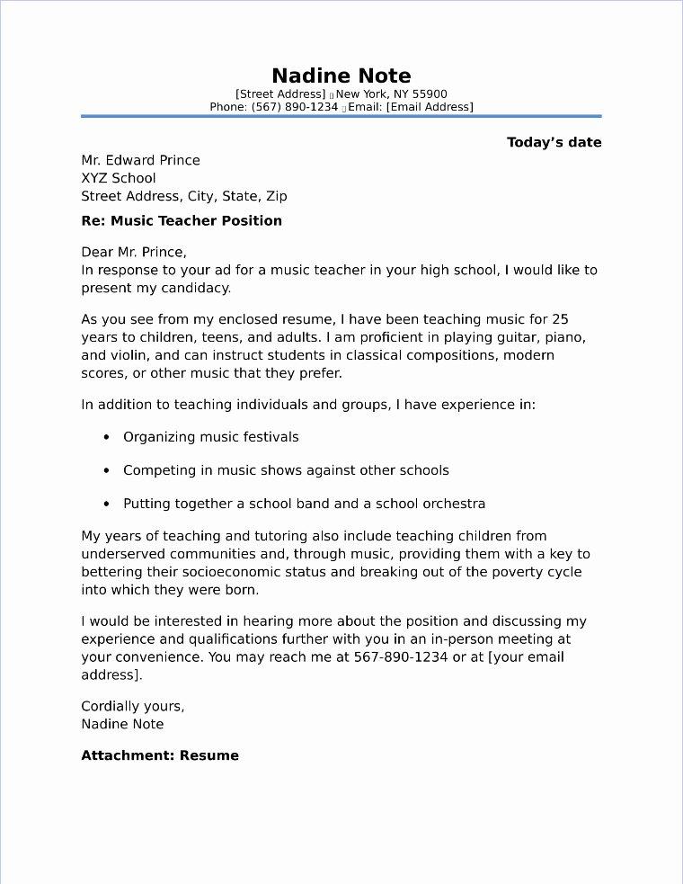 Cover Letter format for Teachers Lovely School Counselor Cover Letter Sample