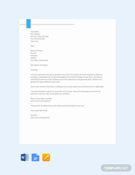 Cover Letter format Google Docs Elegant 66 Free Cover Letter Templates In Google Docs [download