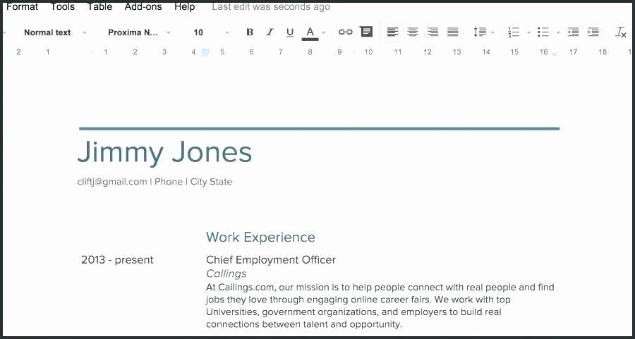 Cover Letter format Google Docs Fresh Resume Templates Docs Google Docs Resume Template Google