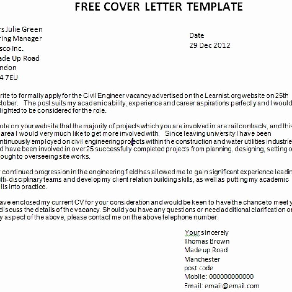 Cover Letter format Google Docs Unique Goodly Cover Letter Template Free – Letter format Writing