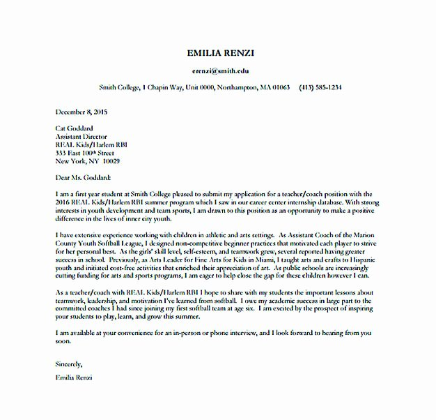 Cover Letter format Pdf Best Of Resume Cover Letter Templates to Secure Job Application