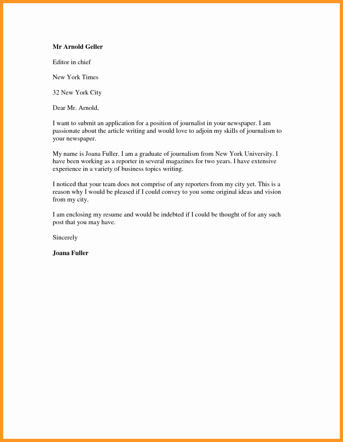 Cover Letter format Pdf Lovely Cover Letter for Job Application Pdf