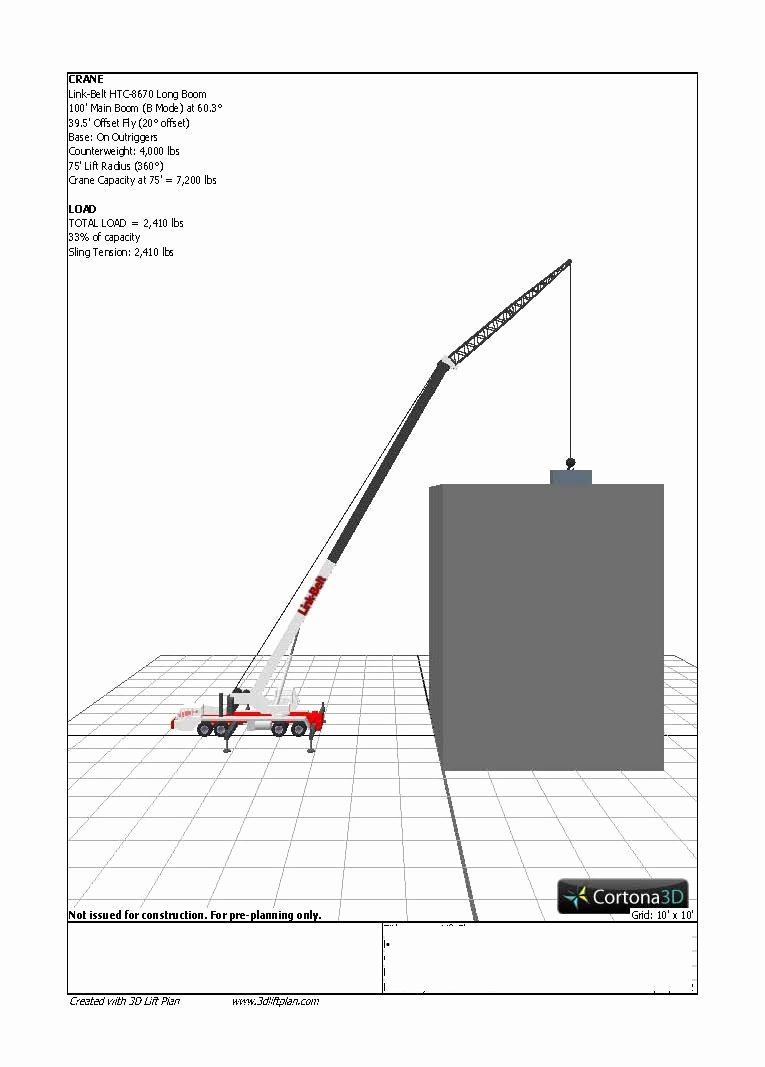 Crane Lift Plan Template Awesome Crane Lift Plan Template Templates Collections