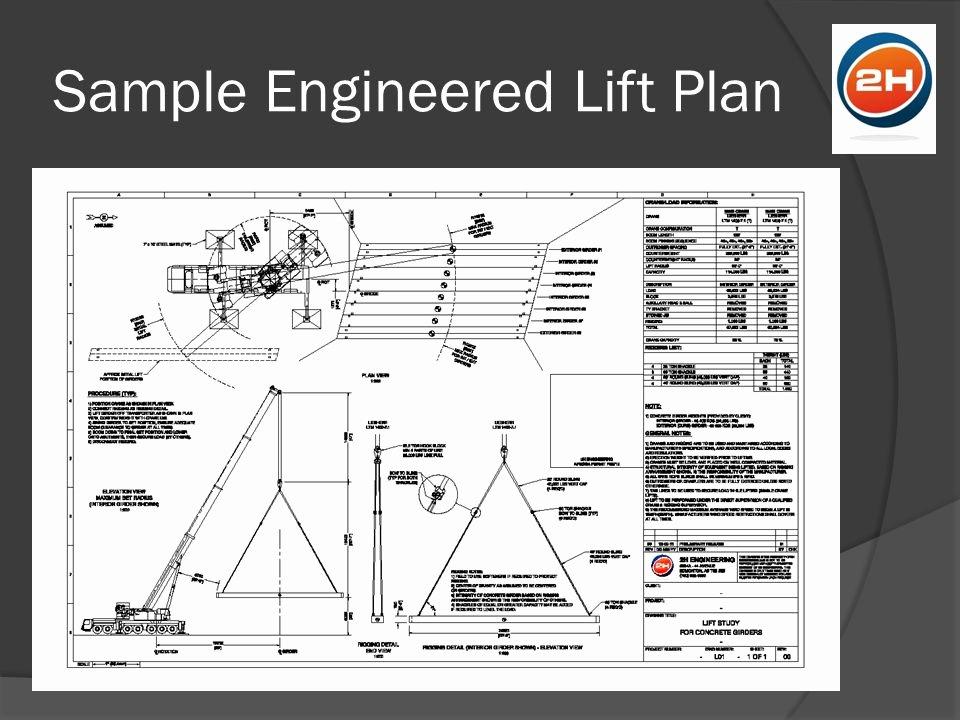 Crane Lift Plan Template Unique Critical Lifts Crane & Rigging Conference Edmonton Ab