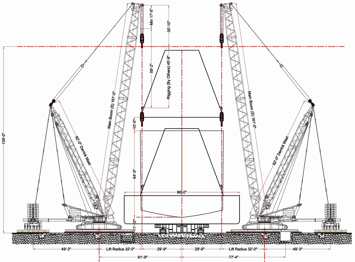 Crane Lifting Plan Template Beautiful How to Setup Cad Based Crane Lift Plans