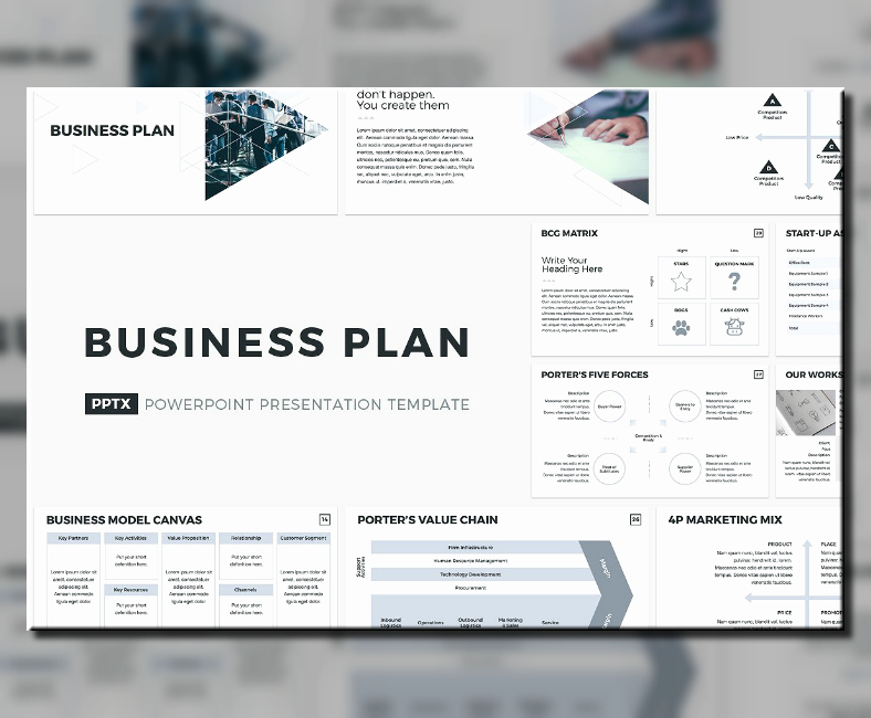 Creative Business Plan Template Fresh 20 Business Plan Powerpoint Designs & Templates Psd Ai