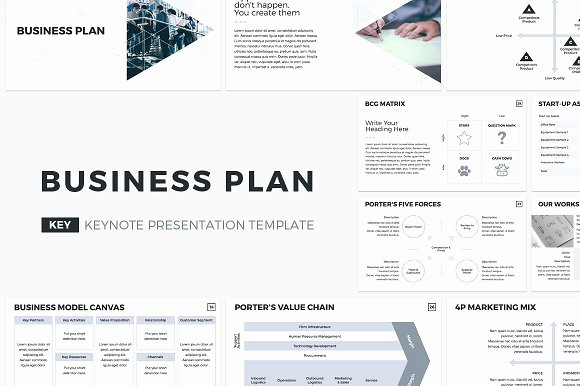 Creative Business Plan Template Fresh Business Plan Keynote Template Presentation Templates