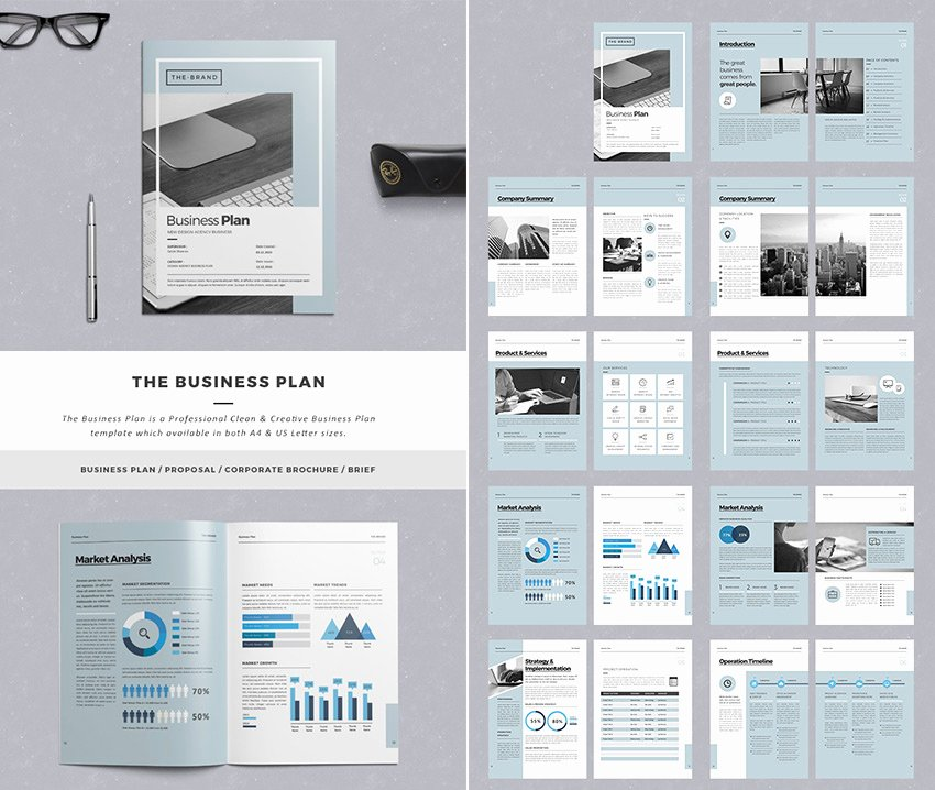 Creative Business Plan Template Lovely 20 Best Business Proposal Templates Ideas for New Client