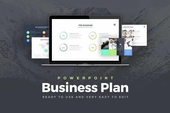 Creative Business Plan Template Luxury Business Plan Powerpoint Template Presentation Templates