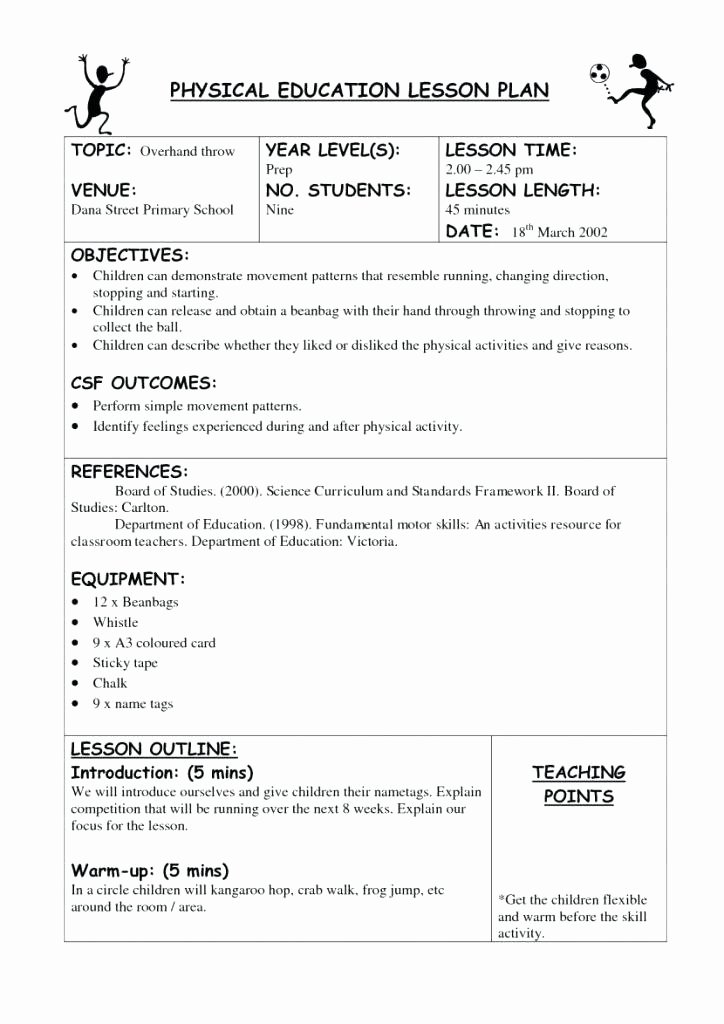 Creative Curriculum Lesson Plan Template Elegant Creative Curriculum Blank Lesson Plan