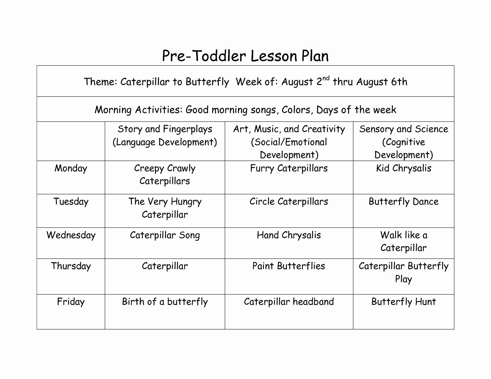Creative Curriculum Lesson Plan Template Fresh Creative Curriculum Lesson Plan Template Google Search