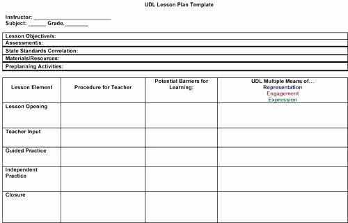 Creative Curriculum Lesson Plan Template Fresh Education Lesson Plan Template Design Preschool Creative